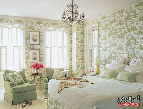 bedroom wallpaper decor