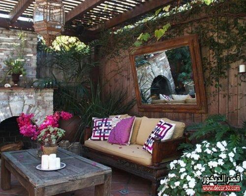 romantic summer patio design