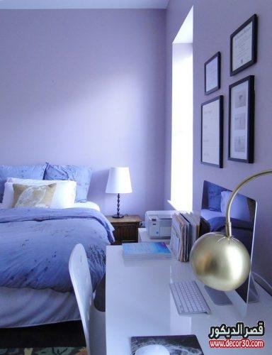 أجمل أصباغ وألوان غرف نوم مودرن