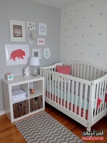 أجمل غرف الاطفال حديثي الولادة