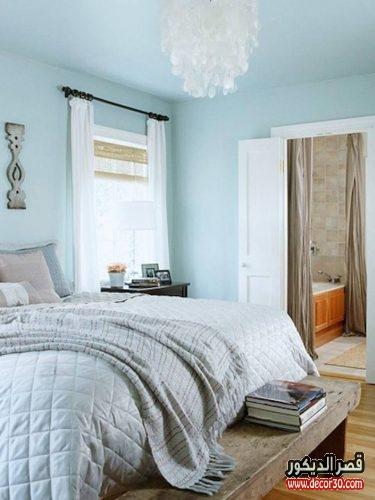 أصباغ فاتحة لحوائط غرف النوم