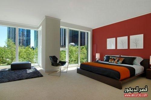 ألوان جدران غرفة نومك