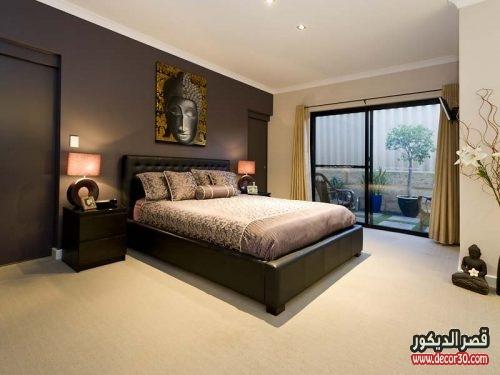 الوان طلاء الجدران في ديكورات غرف النوم