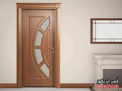 ابواب خشب داخلية فخمة أبواب خشبية للمنازل العصرية قصر الديكور