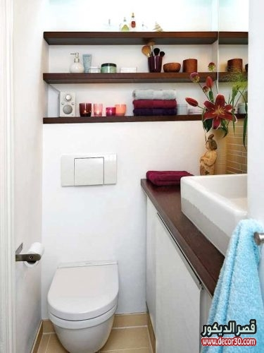 احدث الحمامات الصغيرة المساحه