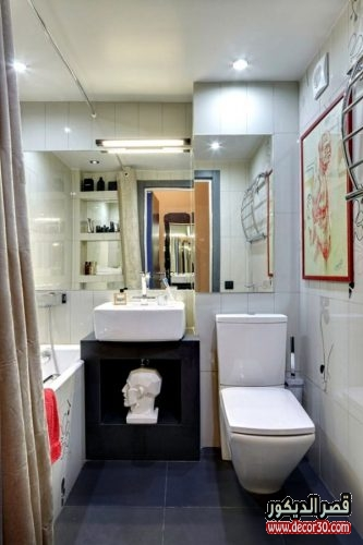 اشكال حمامات مستطيلة صغيرة 2018