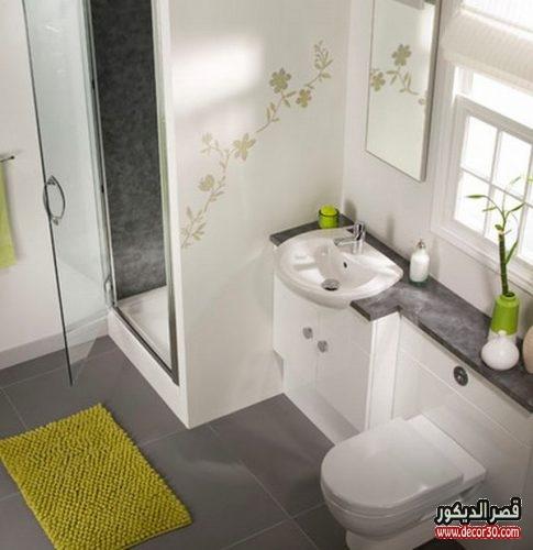 اشكال ديكورات حمامات منازل