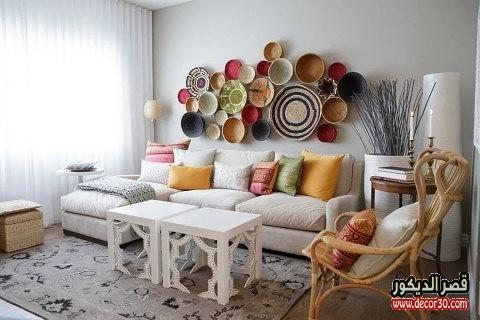 افكار لغرف المعيشة الصغيرة