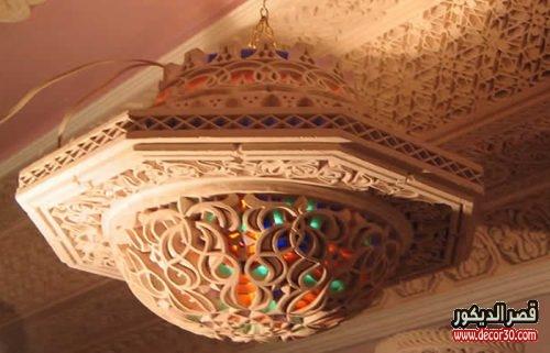 الجبس المغربي اسقف