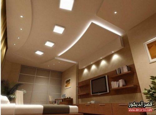 تصاميم اسقف من الجبس حديثة