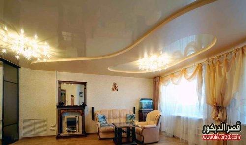 تصاميم اسقف من الجبس للمنازل