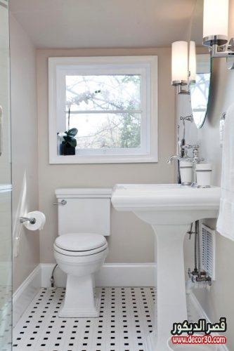 تصاميم حمامات صغيرة وبسيطه 2018