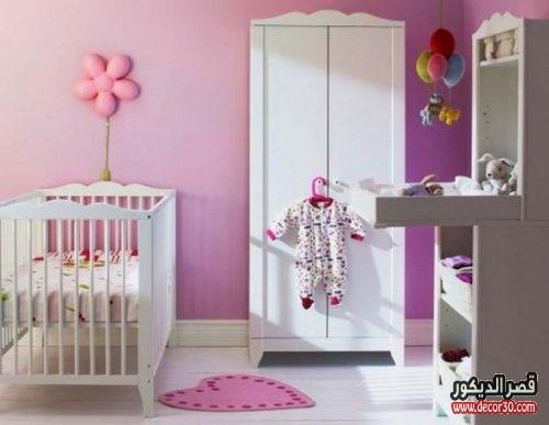 تصاميم غرف نوم حديثي الولادة