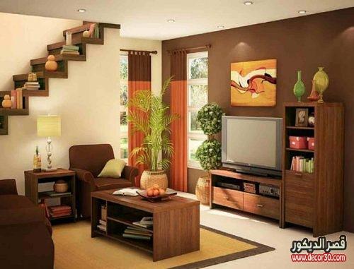 تصميمات غرف معيشة بسيطة