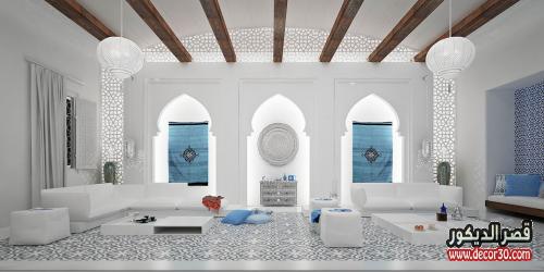 تصميم صالونات مغربية