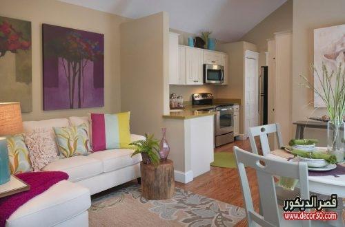 تصميم غرف معيشة بسيط