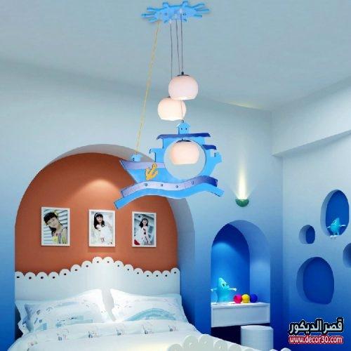 تصميم نجف غرف نوم اطفال