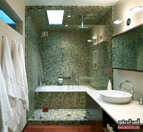 ديكورات حمامات منازل
