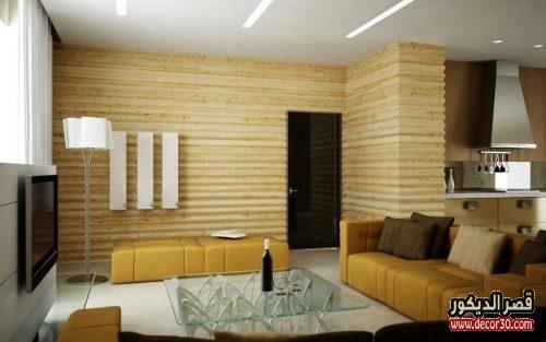 ديكورات خشبية للشقق الصغيرة