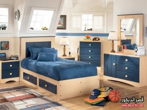 ديكورات غرف اولاد بسيطة