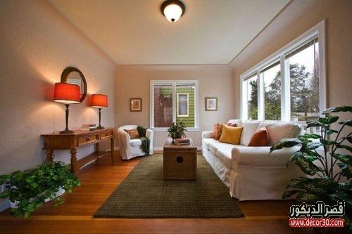 ديكورات غرف معيشة كلاسيكي