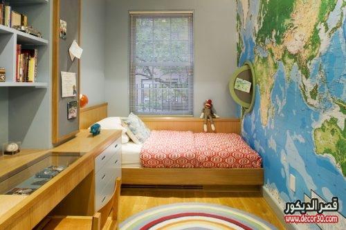 ديكورات غرف نوم اطفال اولاد