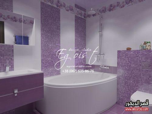 ديكور حمامات بسيطة مودرن