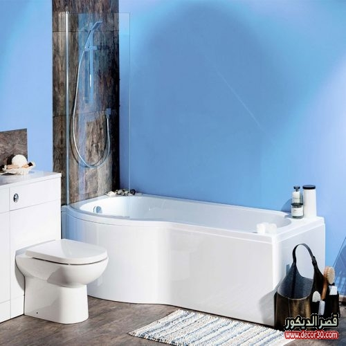 ديكور حمام مربع 2018