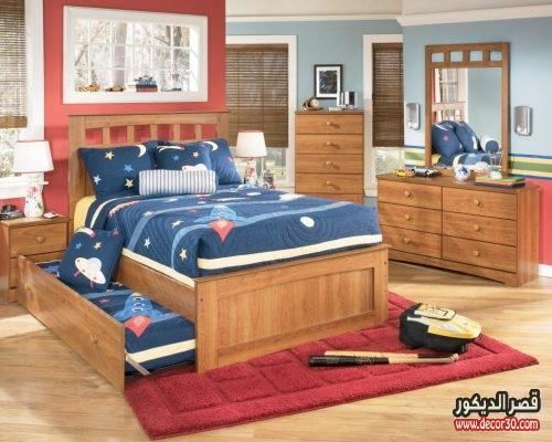 غرف نوم اطفال اولاد بسيطة
