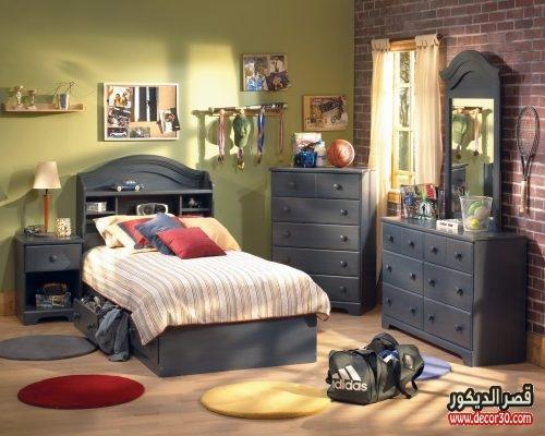 غرف نوم اولاد كبار