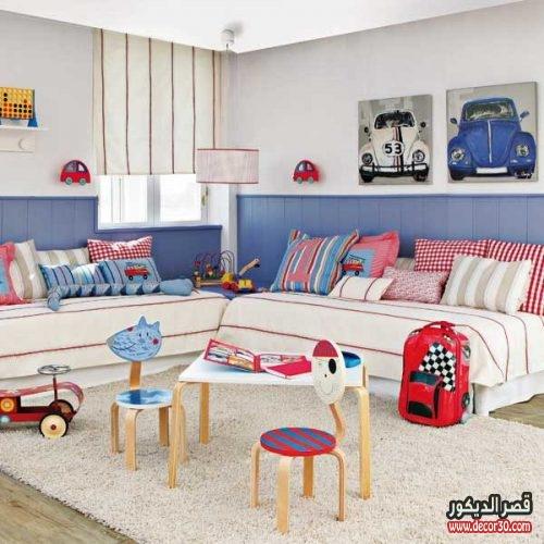 غرف نوم اولاد لشخصين