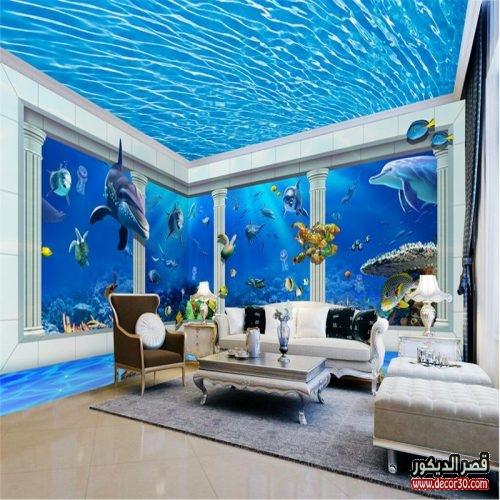 ورق حائط للاسقف بأشكال رائعه وحديثة