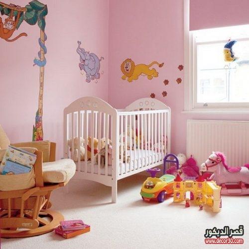 Pink Baby Nursery Room