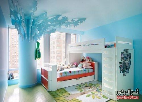 best kids bedroom blue