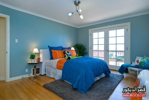 blue paint for bedroom