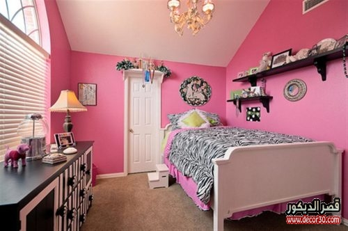 girls bedroom contemporary