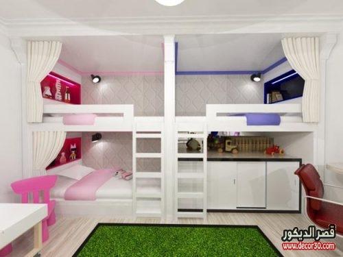 kids room design three children bedroom
