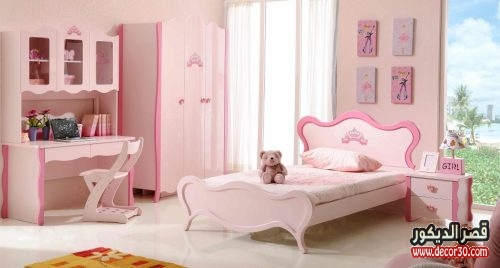 Pink And White Furniture For Bedroom Pink White Wooden Bed Plus Light Brown Bedding Set Combined With