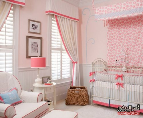 unique baby girl nursery ideas