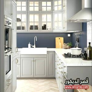 ديكور مطبخ صغير وبسيط وشيك جدا