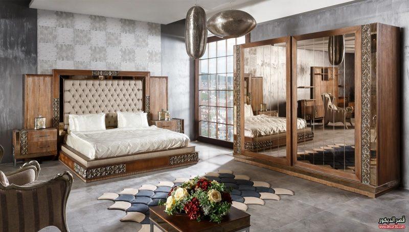 صور غرف نوم 2019 كامله ديكورات اوض رئيسية 2020 قصر الديكور