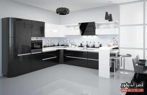 افكار وتصميمات مطابخ المنيوم