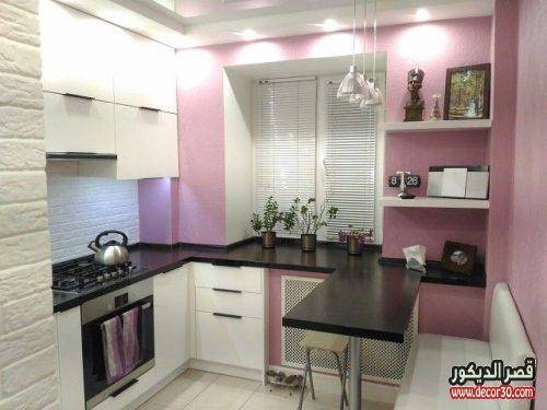 تصميم مطبخ صغير جدا