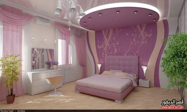 الوان جبس غرف نوم
