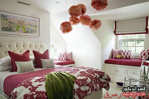 اجمل كتالوج لألوان غرف البنات