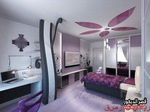 تصاميم غرف نوم بنات 2019