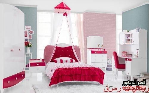 تصاميم غرف نوم بنات 2020