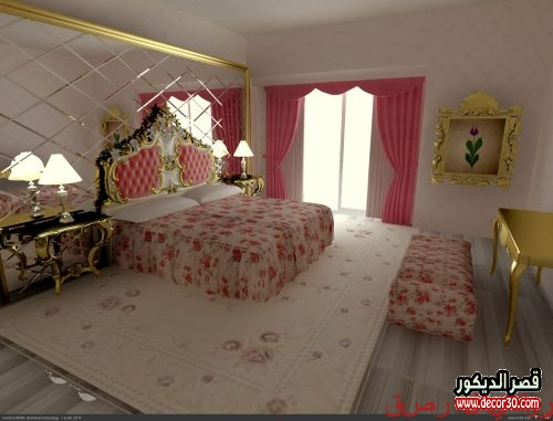 تصميم ديكور غرف نوم بسيطة