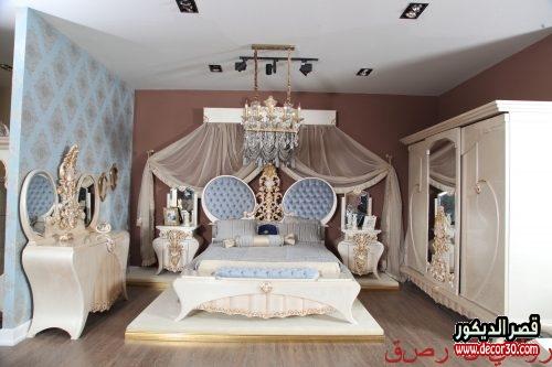 تصميم ديكور غرف نوم كلاسيك