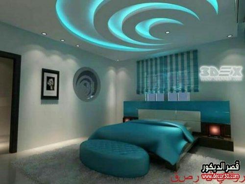 تصميم غرفة نوم رئيسية فخمة